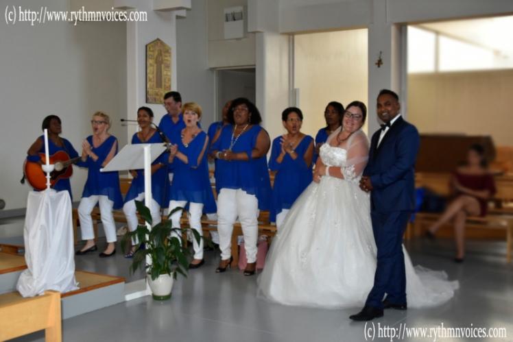 mariage indoor